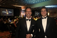 EMMY Nominated Host Peter Miller and son Niles