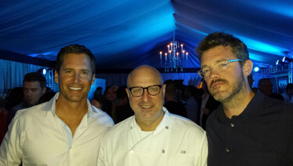 Tom Colicchio and Kevin Law