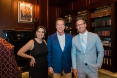 Arnold Schwarzenegger at After School All-Stars Event