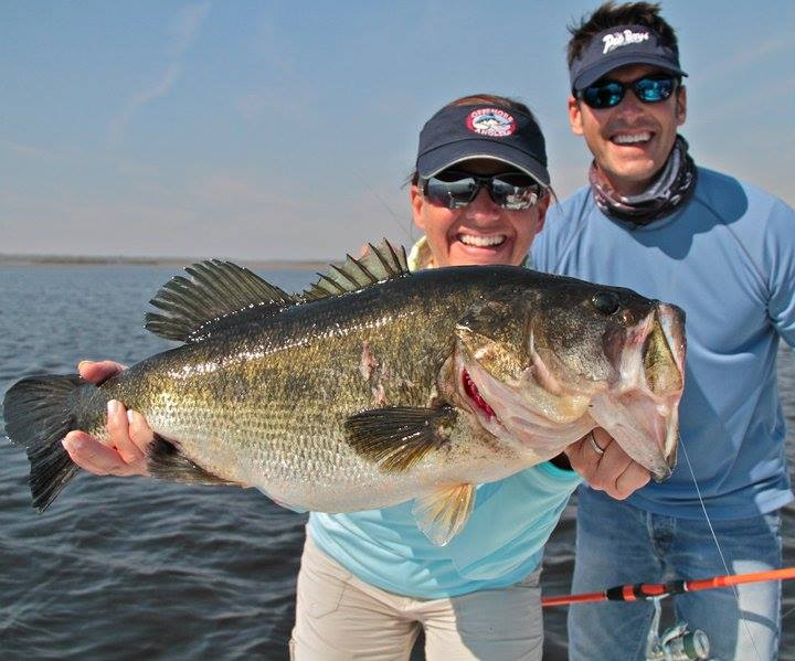 Florida s top bass fishing lakes peter miller for Bass pro shops monster fish